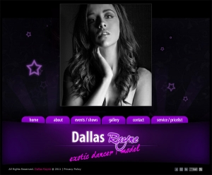 Dallas Rayne Website