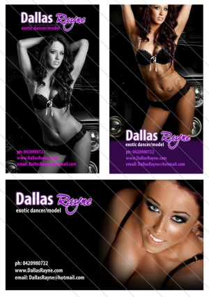 Dallas Rayne Business Card